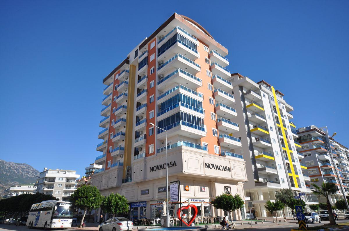Novita City Residence - Ana Cadde Üzeri Alanya Mahmutlar'da Satılık Lüks Daireler