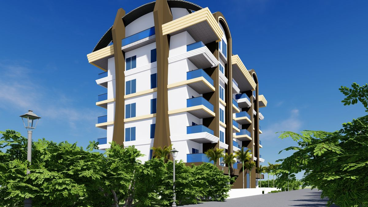 Yeni Projemiz Novita 7 Residence 1+1 Daireler ve 2+1 Dubleksler